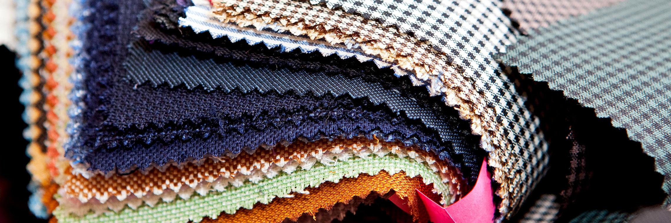 Fabric-pile-large-Maggie-Beal-harker-and-bullman-Wimborne-dorset-letting-agents-ARLA-meet-the-team
