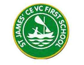 Logo-for-St-James'-First-School-Gaunts-Common-Wimborne